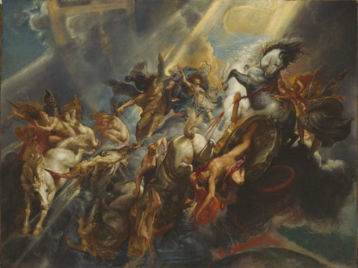 Peter Paul Rubens, The Fall of Phaeton, begun ca. 1604-1605, completed ca. 1610–1612 (Stage 3), National Gallery of Art, Washington