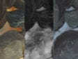 Three details, Primary, X-ray, and False Color Infrared Reflectogram, Peter Paul Rubens, The Fall of Phaeton