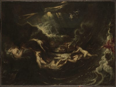 Peter Paul Rubens, Hero and Leander, ca. 1605 Yale University Art Gallery, New Haven, CT