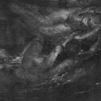 X-radiograph, Peter Paul Rubens, Hero and Leander