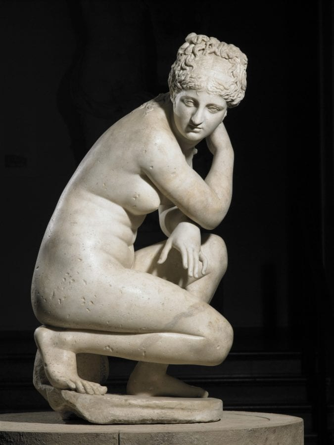 Roman, Aphrodite or Crouching Venus, 2nd century AD, The Royal Collection Trust, London