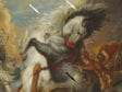 Peter Paul Rubens, The Fall of Phaeton, detail of horses-arrows, begun ca. 1604–1605, completed ca. 1610–1612, National Gallery of Art, Washington