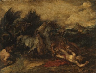 Peter Paul Rubens, The Death of Hippolytus, ca. 1610-1612, The Courtauld Gallery, London