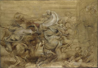 Peter Paul Rubens, A Lion Hunt, ca. 1614-1615, The National Gallery, London