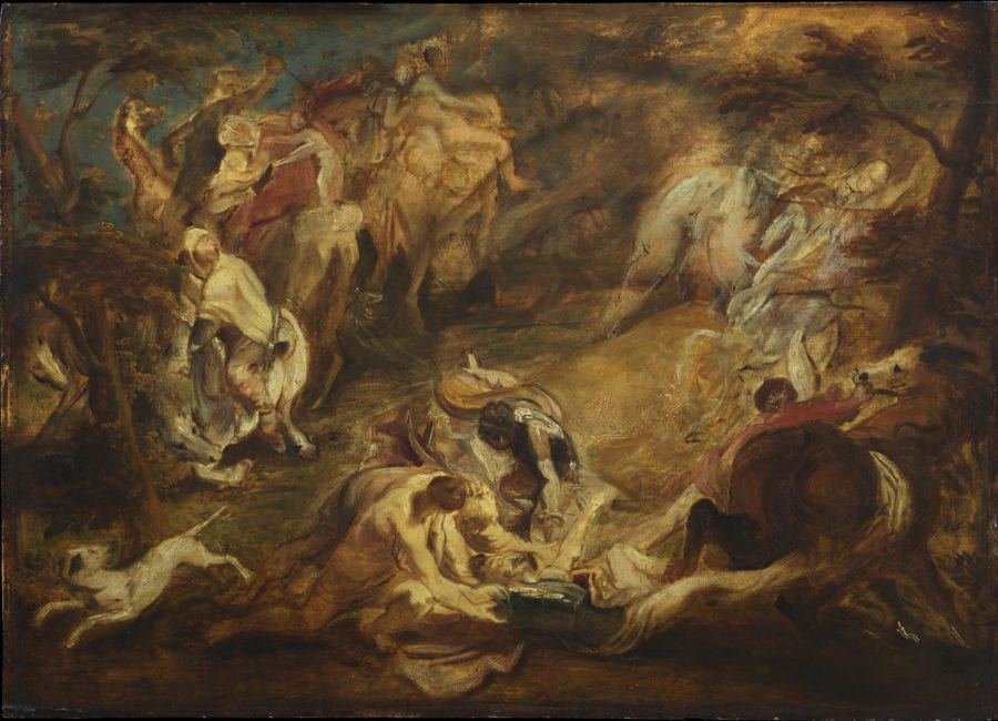 Peter Paul Rubens, The Conversion of Saint Paul, ca. 1610-1612, The Courtauld Gallery, London