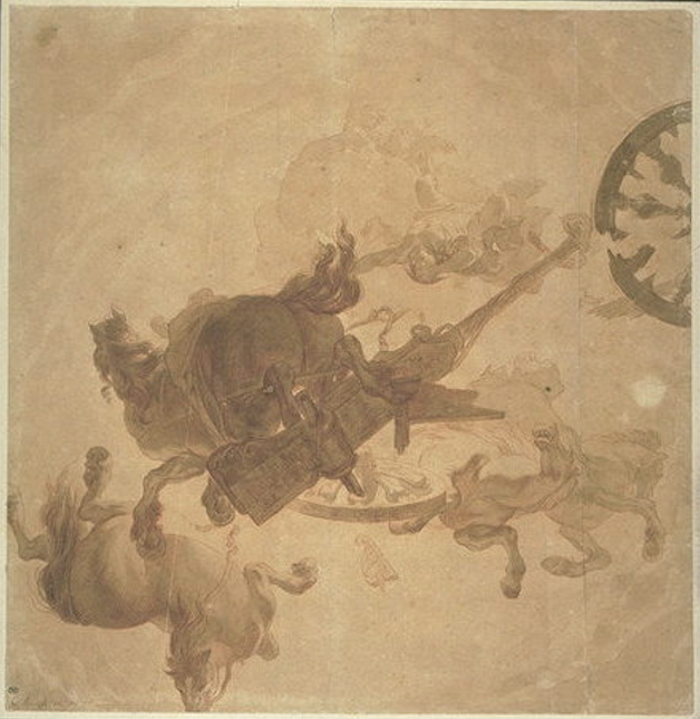 Gérard de Lairesse,  The Fall of Phaeton,  c. 1670, Paris, Musée du Louvre