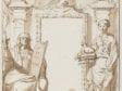 "Gérard de Lairesse,  Study for the Frontispice of ""Historiae Sacrae , Amersfoort, Museum Flehite. Photo: Ep de Ruiter"