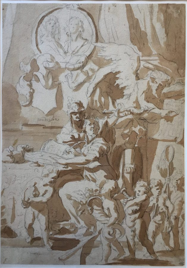 Gérard de Lairesse (?),  Allegory of Trade, Amsterdam, Rijksmuseum