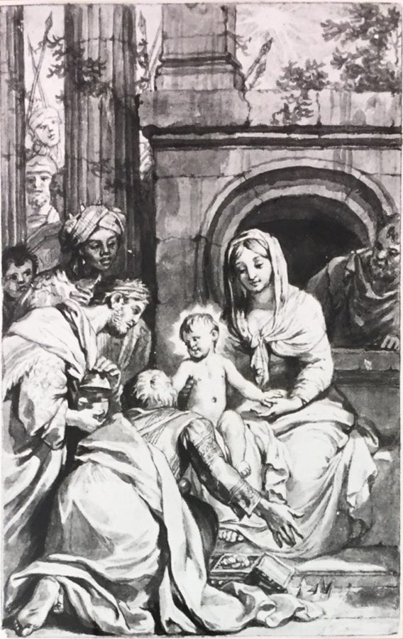 Gérard de Lairesse,  The Adoration of the Kings, Rotterdam, Museum Boijmans Van Beuningen
