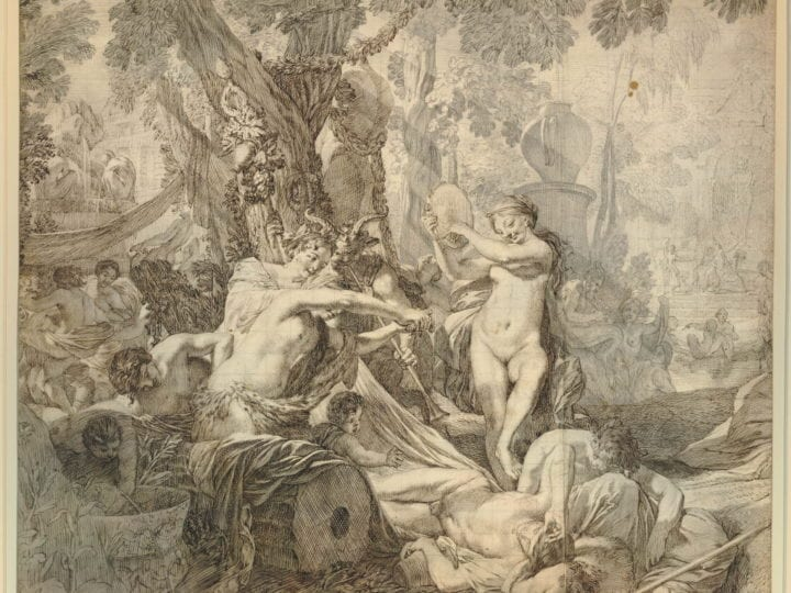 Gérard de Lairesse,  Study for the Great Bacchanal, London, British Museum