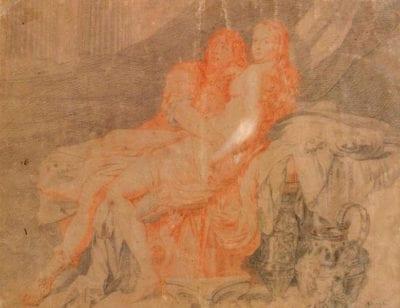 Gérard de Lairesse (?),  Odysseus and Calypso, Rennes, Musée des Beaux-Arts