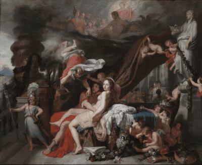 Gérard de Lairesse, Hermes Ordering Calypso to Release OdysseusHermes, Cleveland, Cleveland Museum of Art