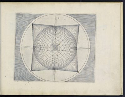 Figure 1 in Perspective (Latin edition), 1604, Getty Research Institute, Los Angeles