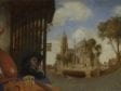 Carel Fabritius,  A View in Delft, 1652,  National Gallery, London