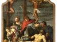 Maarten van Heemskerck (seventeenth-century copy after?), Lamentation with Donor