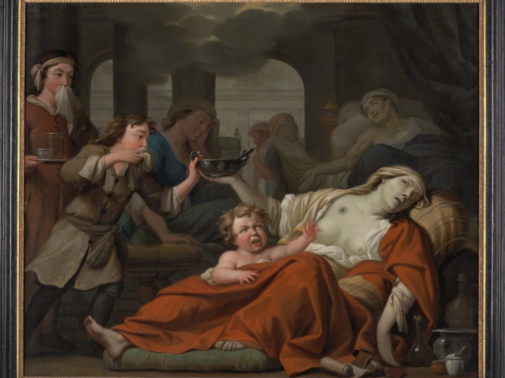 Theodoor van der Schuer, Allegory of Human Deprivation, 1682