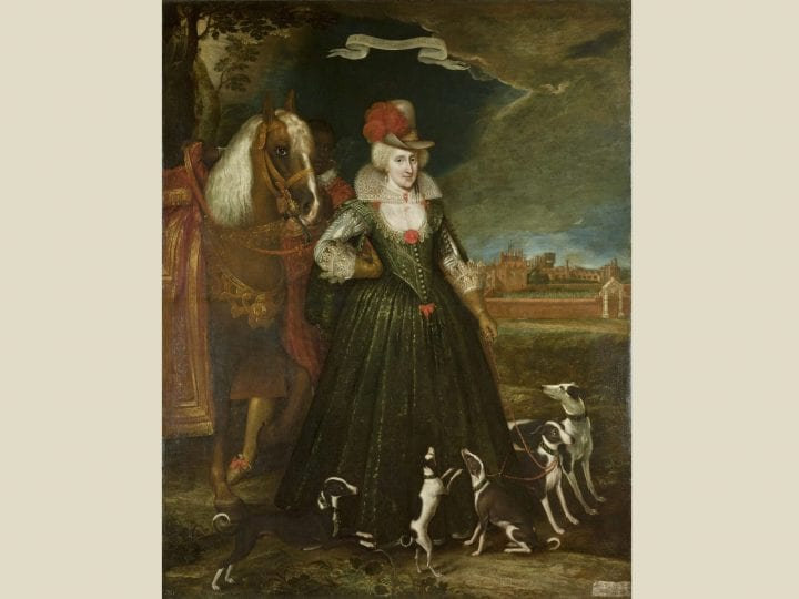 A Mirror for the Prince? <em>Anne of Denmark in Hunting Costume with Her Dogs</em> (1617) by Paul van Somer