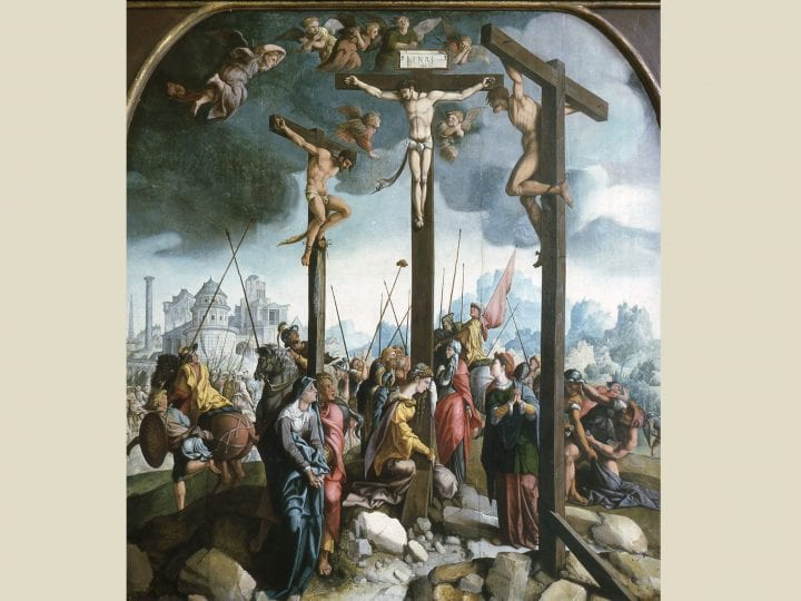 "Jan van Scorel's <em>Crucifixion</em> for the Oude Kerk, Amsterdam: The ""finest painting in all of the regions of Flanders"""