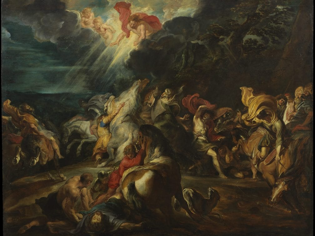 Peter Paul Rubens, The Conversion of Saint Paul (painting), ca. 1610-1612, The Courtauld Gallery, London