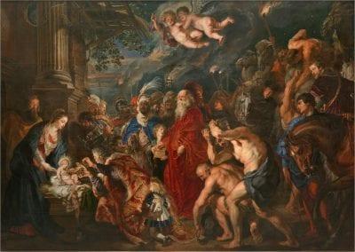 Peter Paul Rubens, Adoration of the Magi, 1609, Museo Nacional del Prado, Madrid