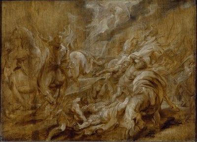 Peter Paul Rubens, The Conversion of Saint Paul, ca. 1610-1612, University of Oxford, Ashmolean Museum