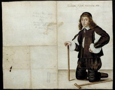Unidentified Artist,Portrait of Matthias Jacque, 1654, tate Archives, Liège