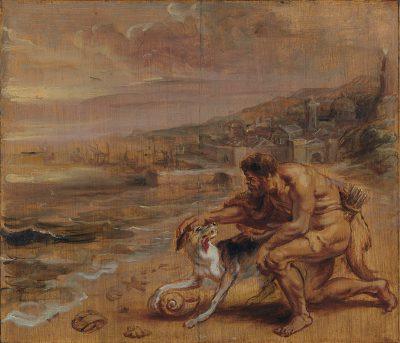 Peter Paul Rubens, The Discovery of Tyrian Purple, ca. 1636, Musée Bonnat-Helleu, Bayonne