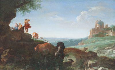 Cornelis van Poelenburch, Landscape with the Flight into Egypt, 1625, Centraal Museum, Utrecht