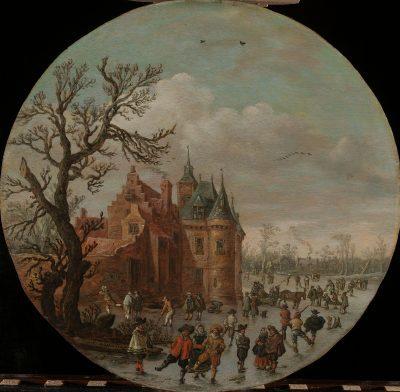 Jan van Goyen, Winter, 1625, Rijksmuseum, Amsterdam
