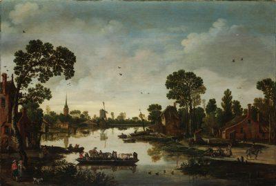 Esaias van de Velde, The Cattle Ferry, 1622, Rijksmuseum, Amsterdam