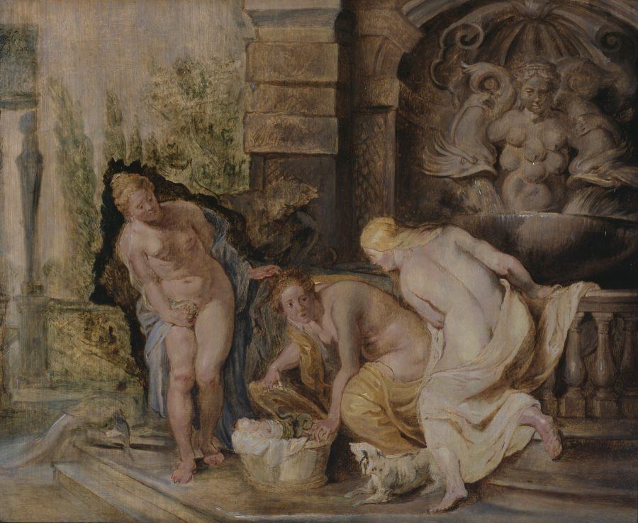 Peter Paul Rubens, The Discovery of Erichthonius, ca. 1615, The Courtauld Gallery of Art, London