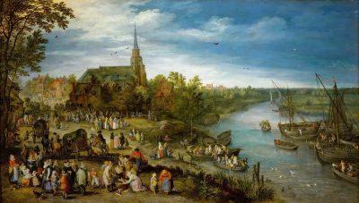 Jan Brueghel the Elder, Parish Fair in Schelle, 1614, Kunsthistorisches Museum, Vienna