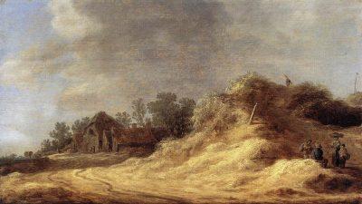 Jan van Goyen, Dune Landscape, 1629, Gemäldegalerie, Berlin