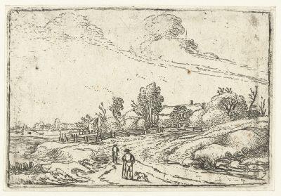 Esaias van de Velde, Road through the Dunes, ca. 1614, Rijksmuseum, Amsterdam