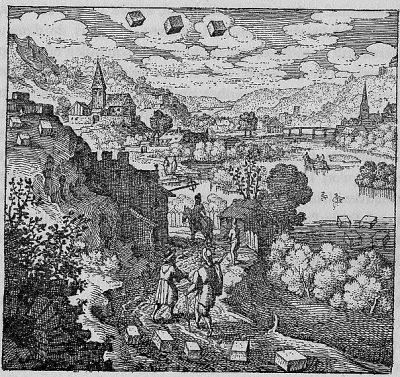 Matthäus Merian in Michael_Maier, Atalanta Fugiens (Emblem 36), 1618