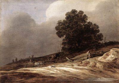 Pieter de Molijn, Dune Landscape with Trees and Wagon, 1626, Herzog Anton Ulrich-Museum, Braunschweig
