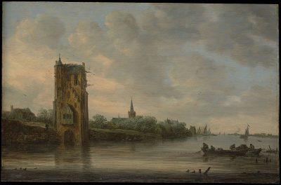 Jan van Goyen, The Pelkus Gate near Utrecht, 1646, Metropolitan Museum of Art, New York