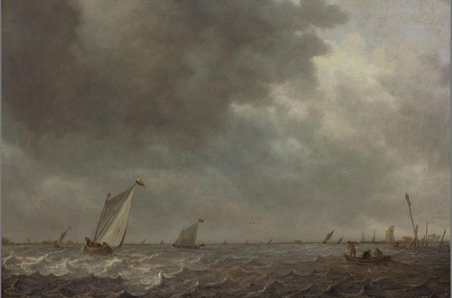 Jan van Goyen, Sailing Vessels on a Lake, 1639, Museum Boijmans van Beuningen, Rotterdam