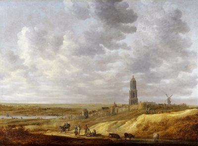 Jan van Goyen, Extensive Landscape with View of Rhenen, 1636, Private collection