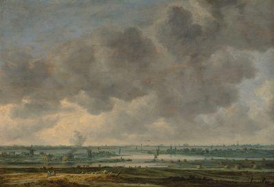 Jan van Goyen, View of Haarlem and the Haarlemmermeer, 1646, Metropolitan Museum of Art, New York