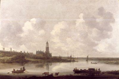 Jan van Goyen, View of the River Rhine near Rhenen, 1646, Rijksdienst voor het Cultureel Erfgoed