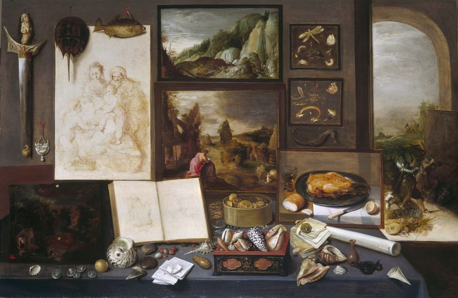 Frans Francken the Younger, Cabinet of a Collector, 1617, Royal Collection Trust, London