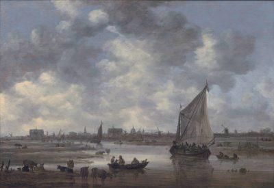 Jan van Goyen, View of Leiden from the Northeast, 1650, Museum de Lakenhal, Leiden