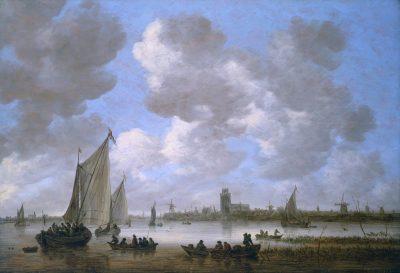Jan van Goyen, View of Dordrecht, 1651, Dordrechts Museum, Dordrecht