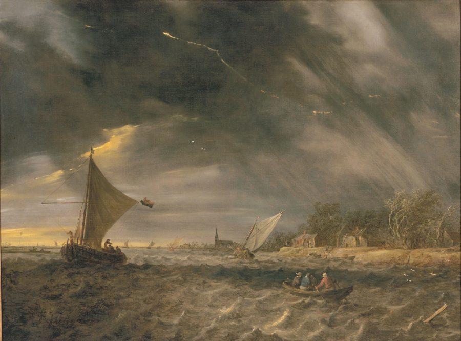 Jan van Goyen, A Thunderstorm, 1641, Legion of Honor Museum, San Francisco
