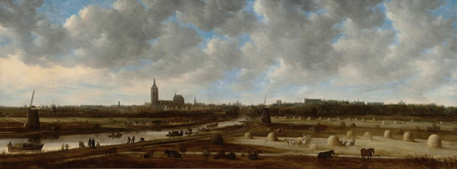 Jan van Goyen, View of The Hague from the South-East, 1651, Historisch Museum, The Hague