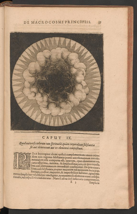 Primordial Chaos, ca. 1617, etching, Stiftung der Werke von C.G. Jung, Zürich