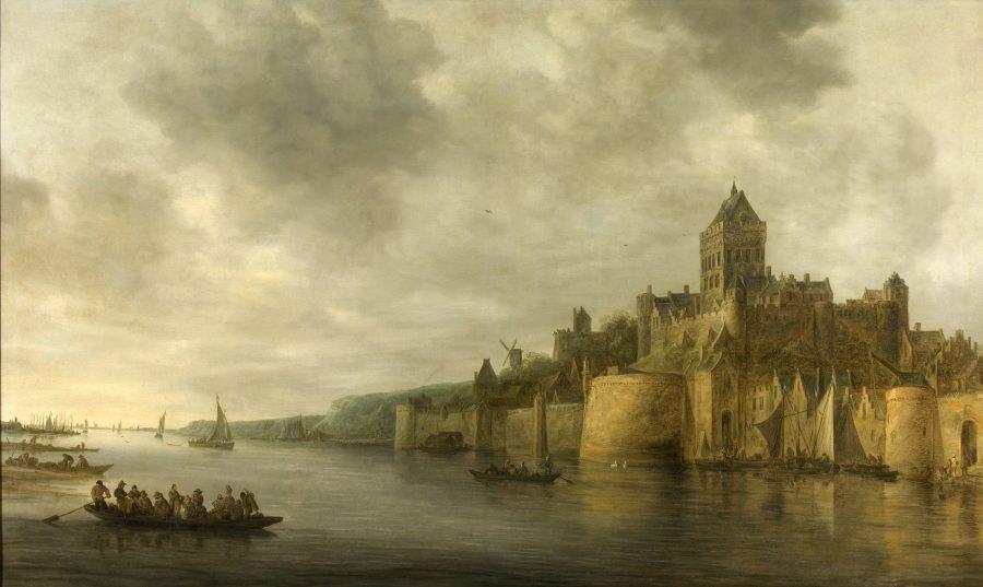Jan van Goyen, View of the Valkhof Castle, 1641, Museum het Valkhof, Nijmegen