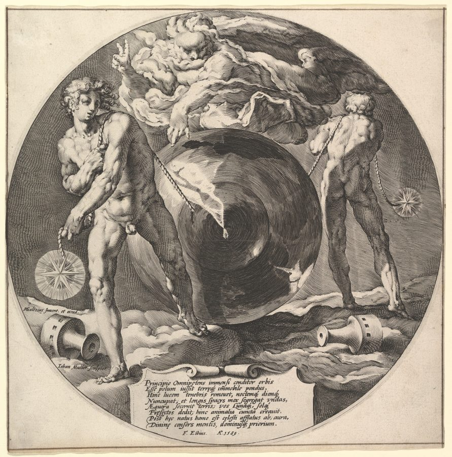 Jan Muller after Hendrick Goltzius, Creation of the World, ca. 1592, Metropolitan Museum of Art, New York